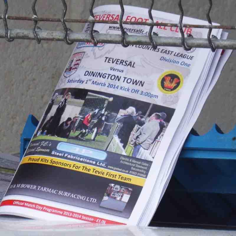 20140301 - Teversal FC v Dinnington Town