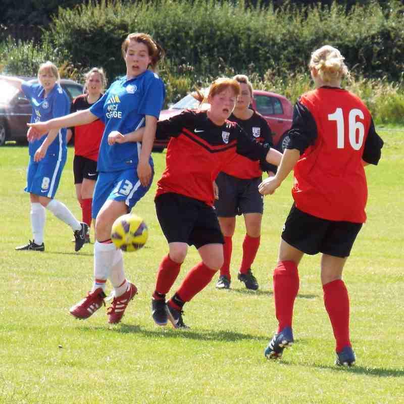 20160717 - Teversal FC Ladies - Trevor Clifton Trophy [Group Games]