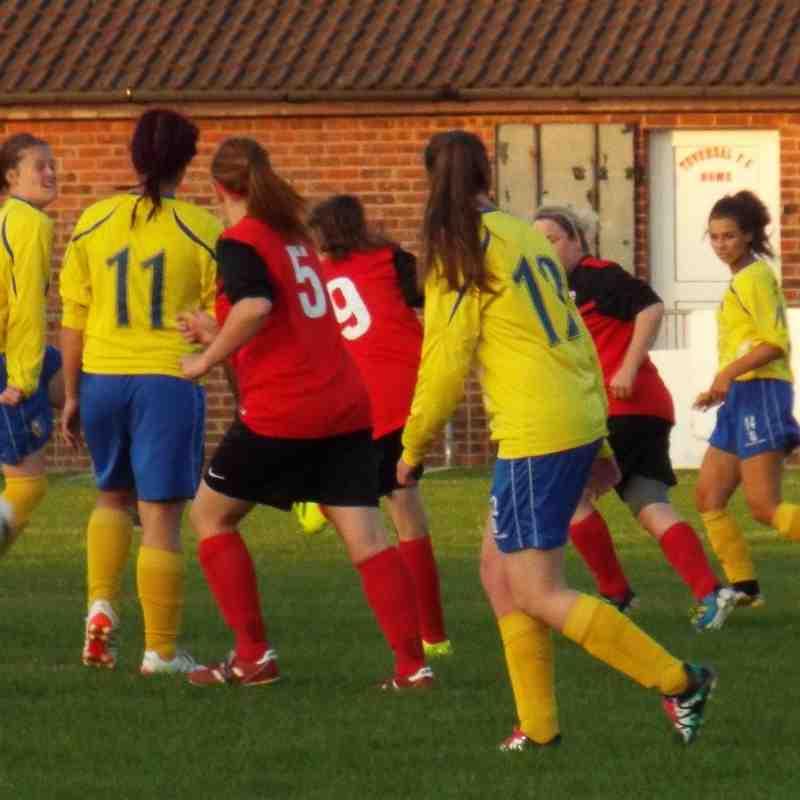 20160817 - Teversal FC Ladies v Mansfield Town Ladies Dev