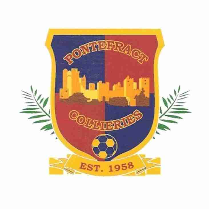 MATCH PREVIEW : PONTEFRACT COLLIERIES