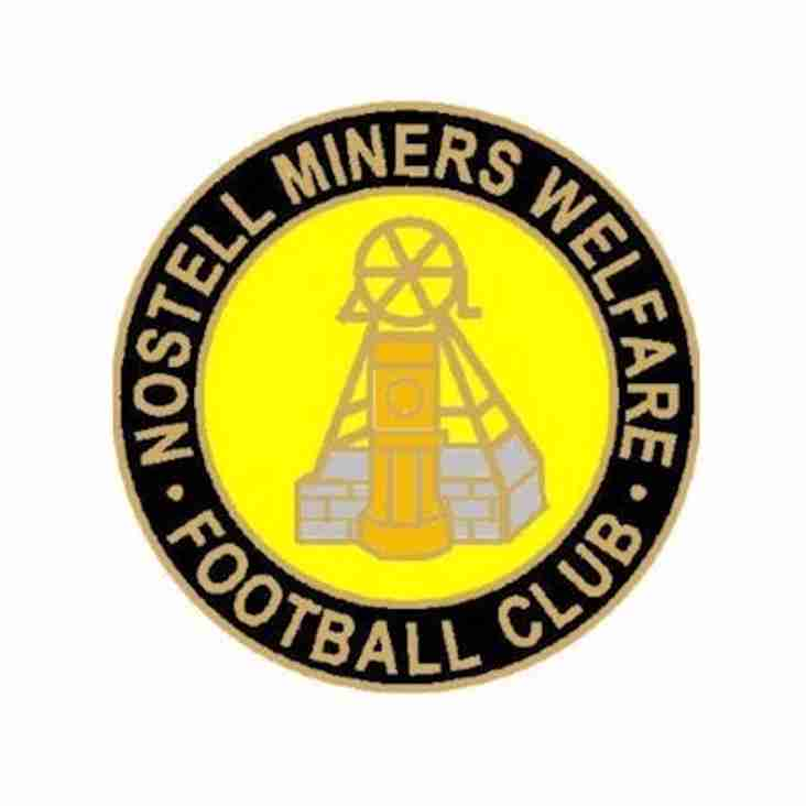 MATCH PREVIEW : NOSTELL MINERS WELFARE