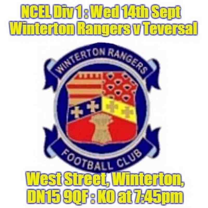 20160914 - Winterton Rangers v Teversal FC