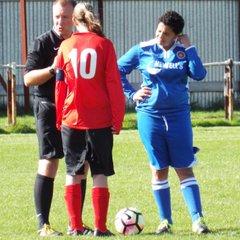 20160925 - Teversal FC Ladies v Lincoln Moorland Railway LFC