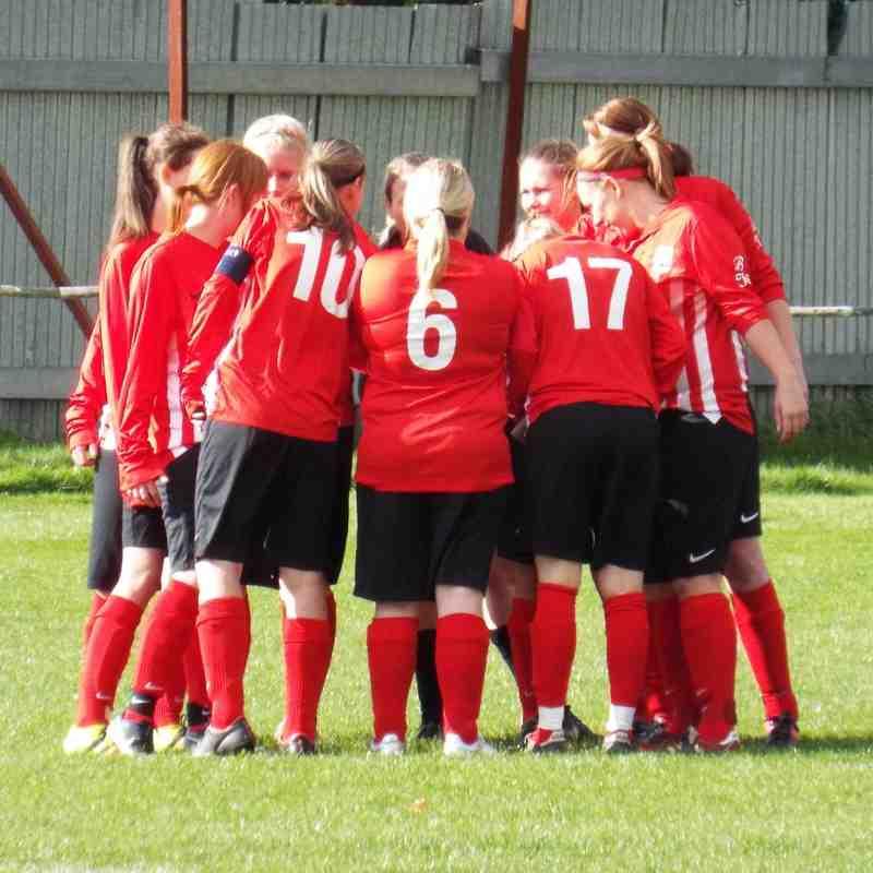 20161009 - Teversal FC Ladies v Ollerton Town Ladies