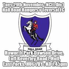 20161129 - Hall Road Rangers v Teversal FC