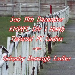 20161212 - Teversal FC Ladies v Grimsby Borough Ladies