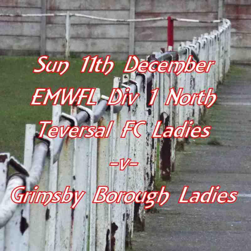 20161212 - Teversal FC Ladies v Grimsby Borough Ladies
