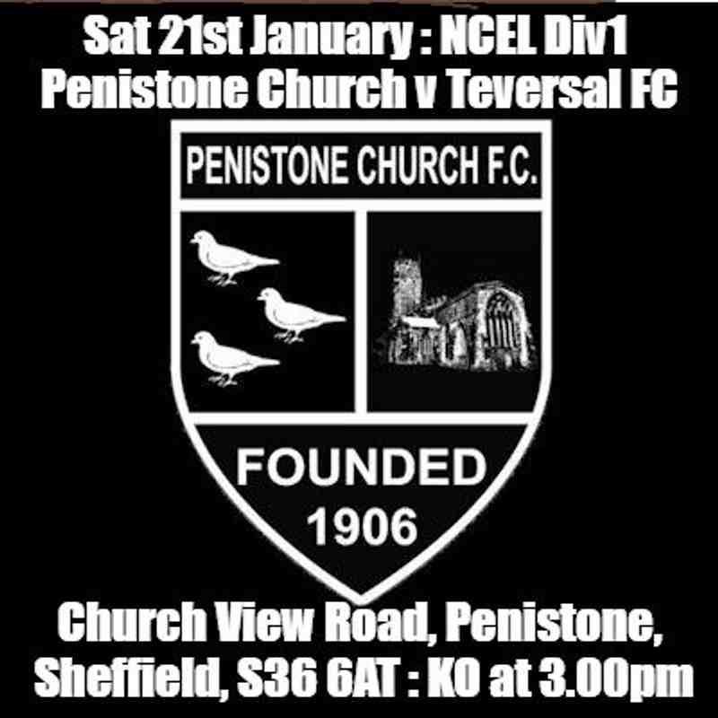 20170121 - Penistone Church v Teversal FC