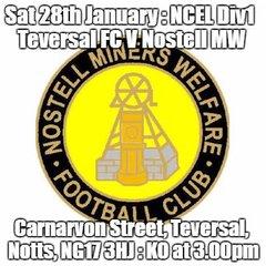 20170128 - Teversal FC v Nostell Miners Welfare