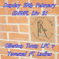 20170219 - Ollerton Town LFC v Teversal FC Ladies