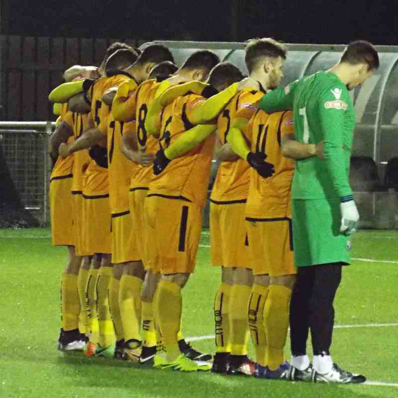 ...for referee Andy Rolph who passed away at the weekend...