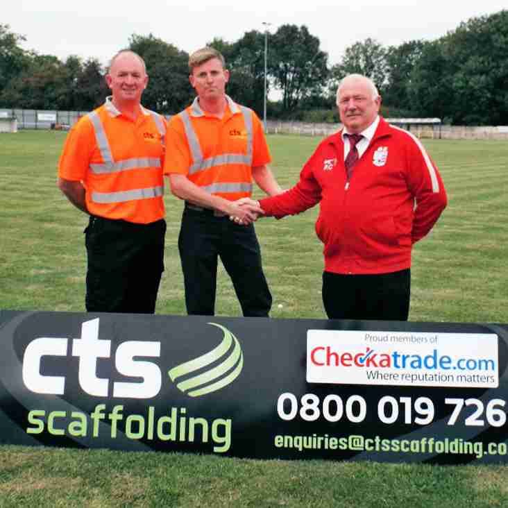CTS SCAFFOLDING ON BOARD WITH TEVERSAL FC