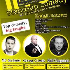 Comedy Night @LeighRUFC