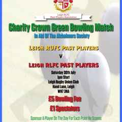 Charity Crown Green Bowling Sat 30th July