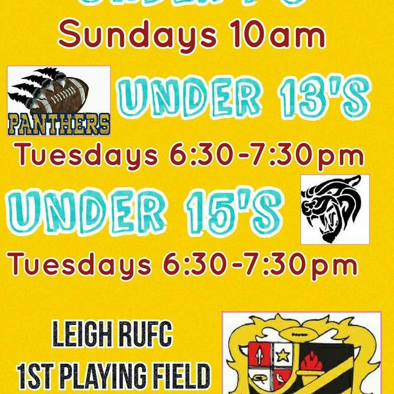 Girls rugby @Leigh RUFC