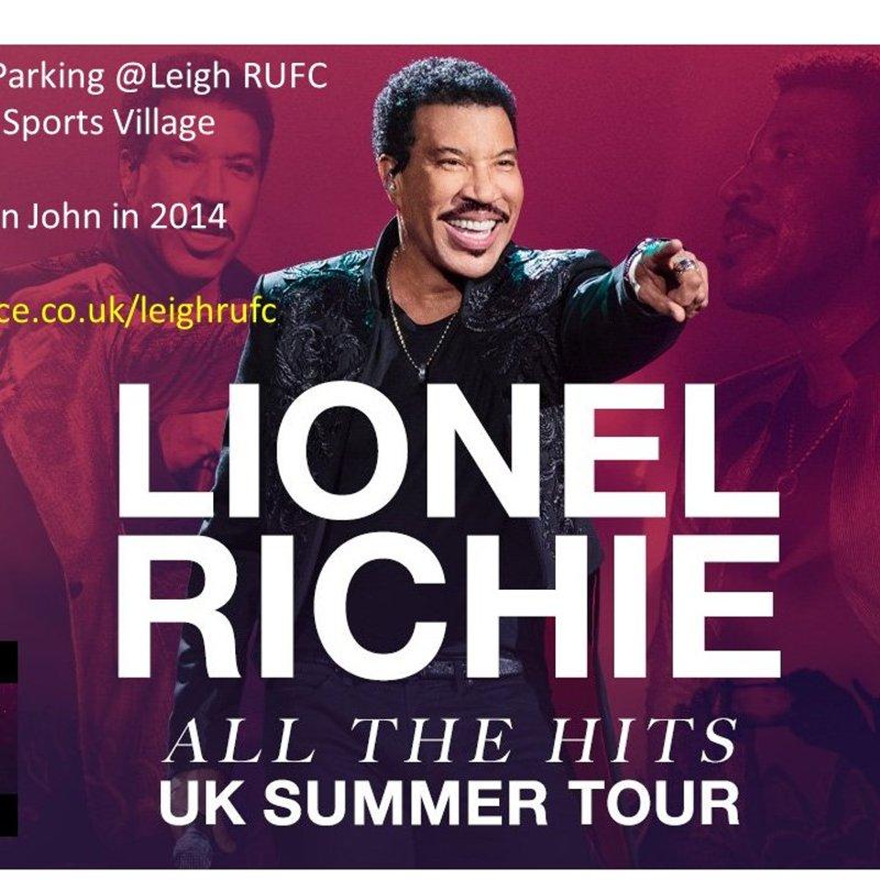 Car Parking for Lionel Richie 16th June 2018