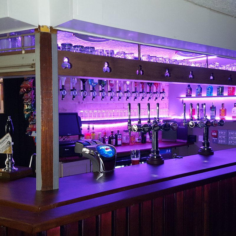 Back bar refurbishment completed