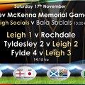 Kev McKenna Memorial game
