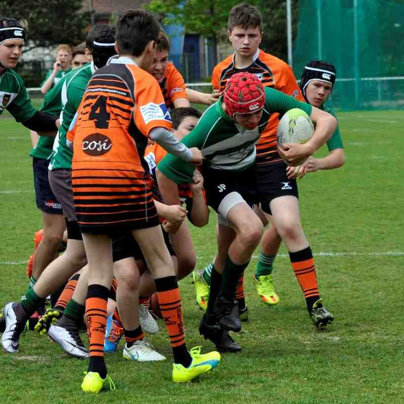 Under 14's at Bethune