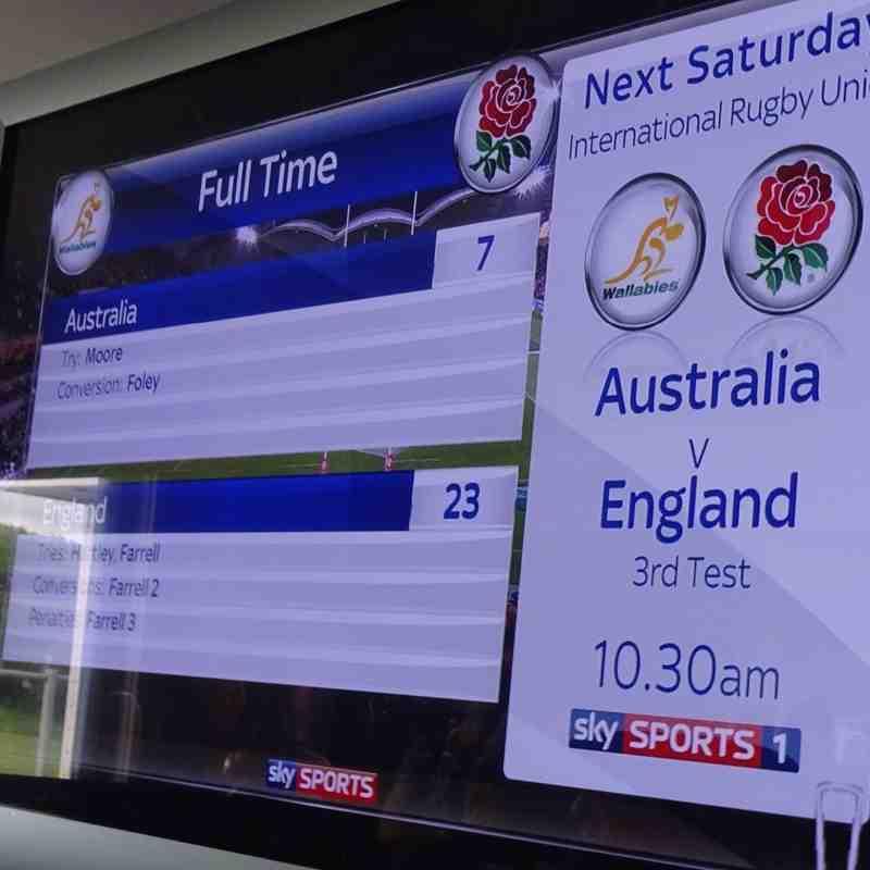 England 23 v Australia 7