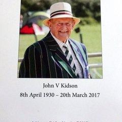 Remembering John Kidson