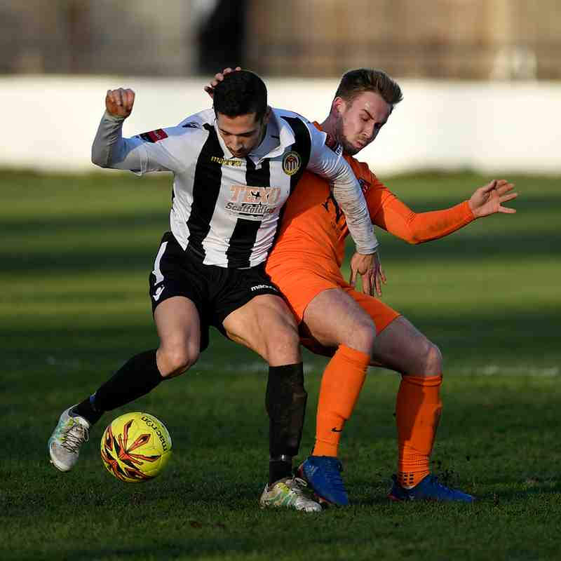Heybridge Swifts V Maldon & Tiptree 26/12/16