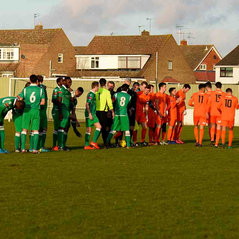 Waltham Abbey V Maldon & Tiptree 14/1/16