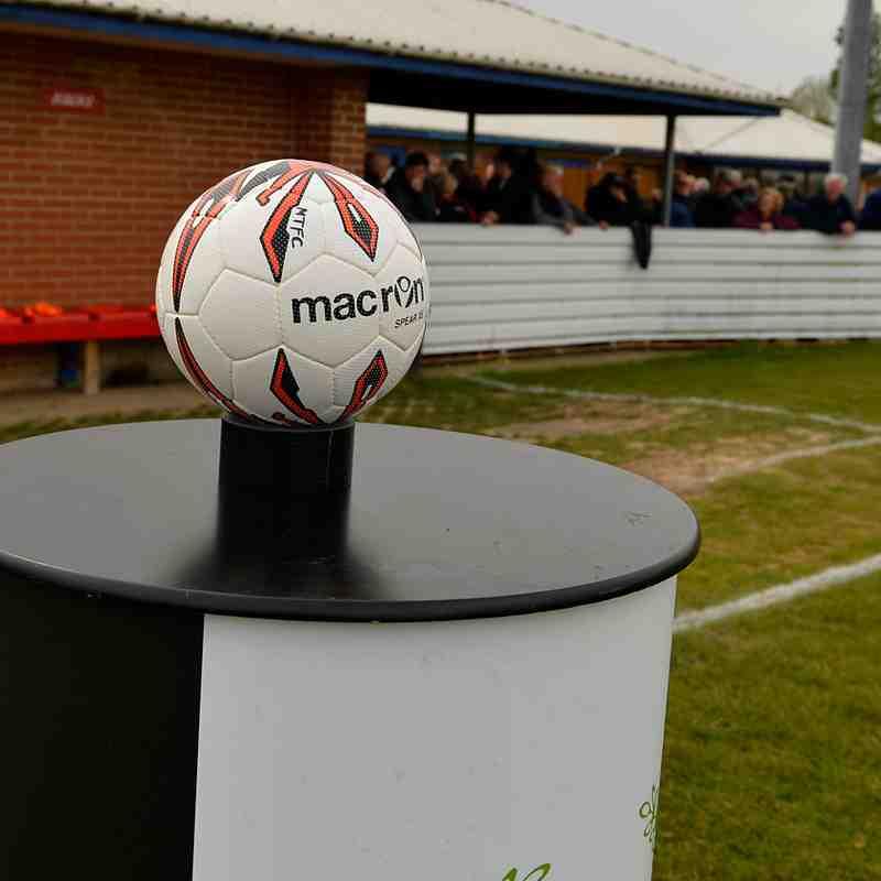 Maldon & Tiptree v Thurrock, Play-off final 30/4/17