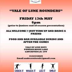 COME AND PLAY ROUNDERS !