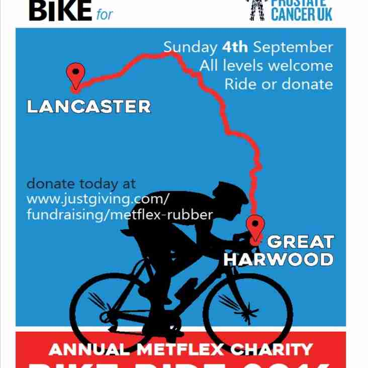Annual Metflix Charity Bike Ride