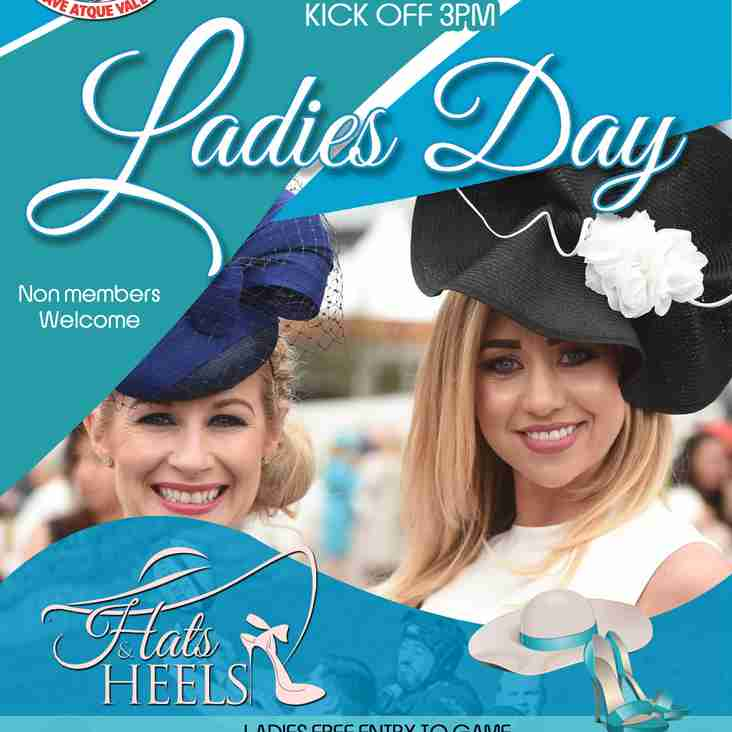 LADIES DAY - SATURDAY 2nd of SEPTEMBER