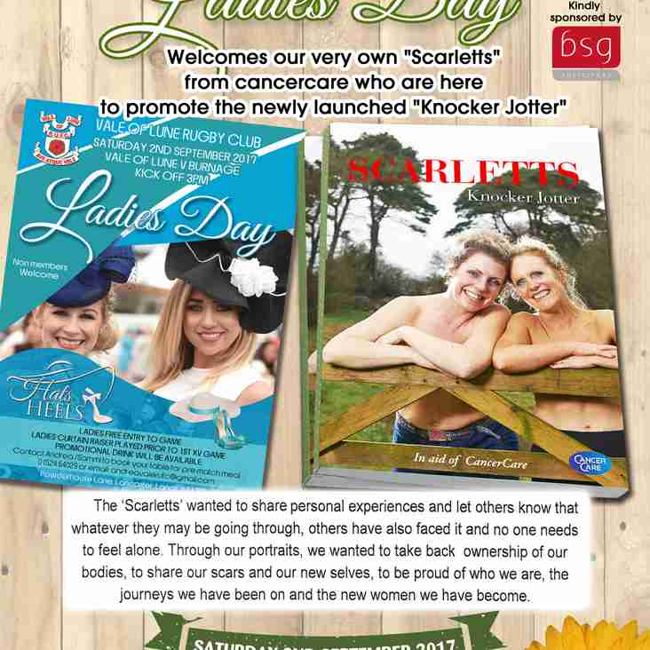 Cancercare to join us on Laides Day !!