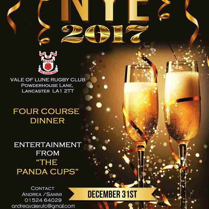 TICKETS STILL AVAILABLE FOR NYE !!!