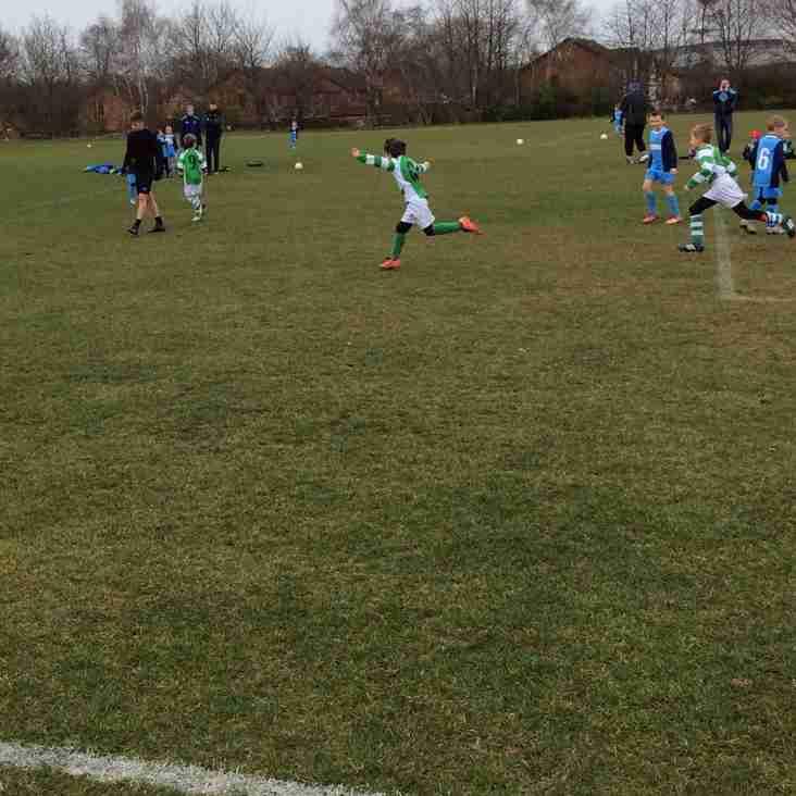 Long Eaton 1-5 Priory Celtic Hoops u7's
