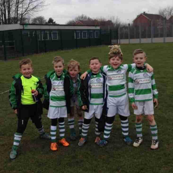 Priory Celtic hoops u7's 4-1 Hucknall sports black
