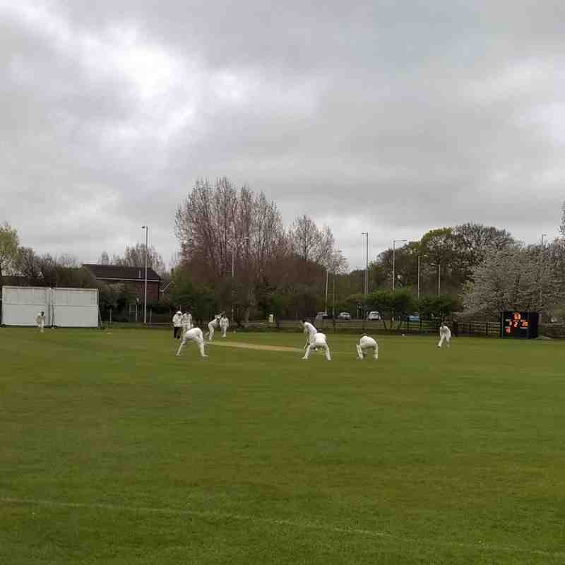1st XI v Stockport - 25th April 2015