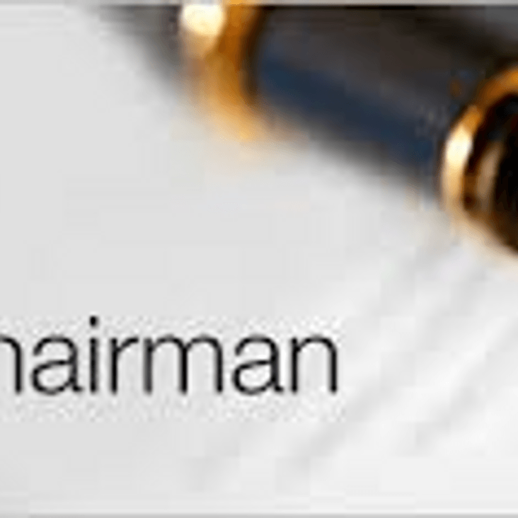 Chairman&#039;s Message - October 2018<