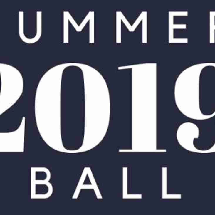 Time to book your Summer Ball tickets