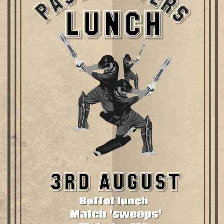Past Players Lunch 2019