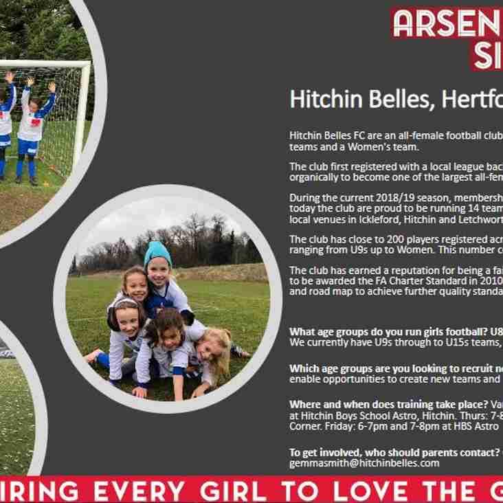 Arsenal Sister Club