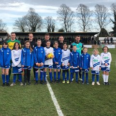 International  women's day event at Hitchin Town FC