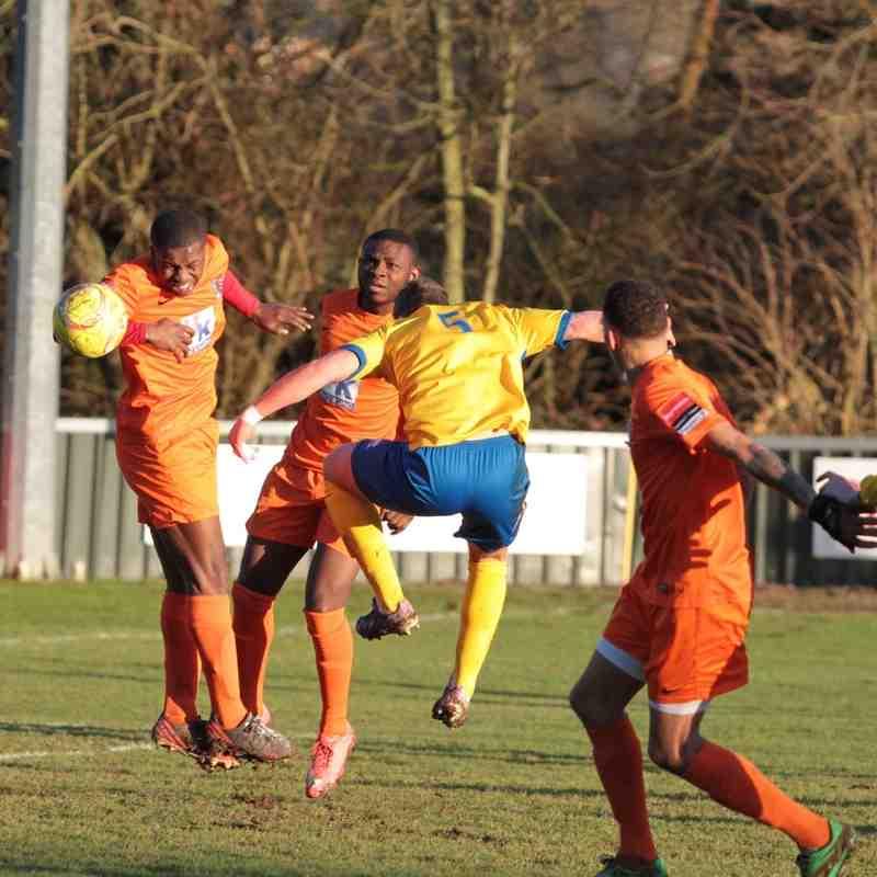 AFC Sudbury 1 Maldon & Tiptree 0