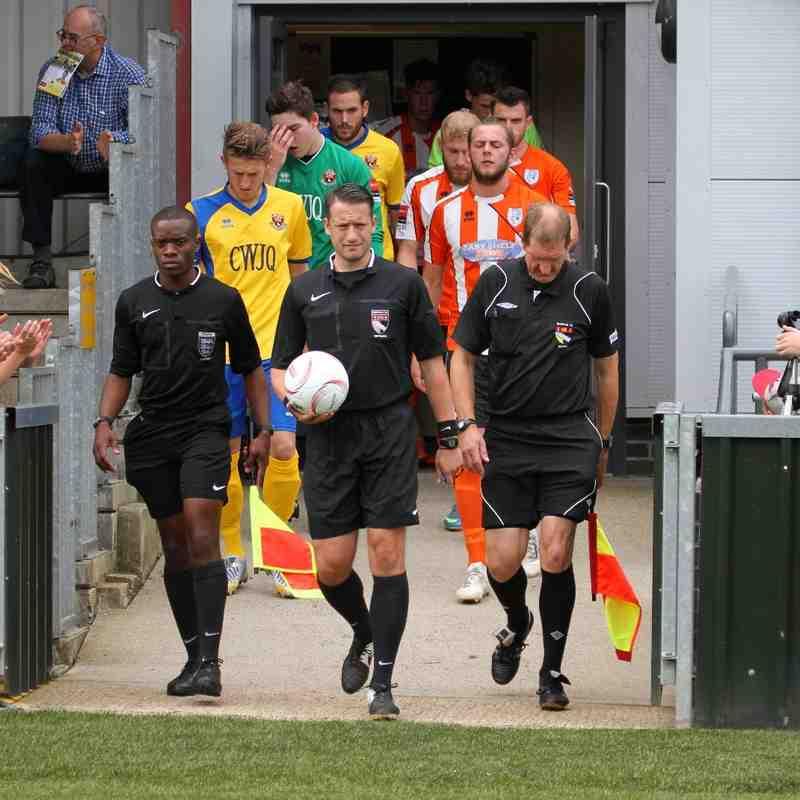 AFC Sudbury 4 Ware FC 0  FA Cup