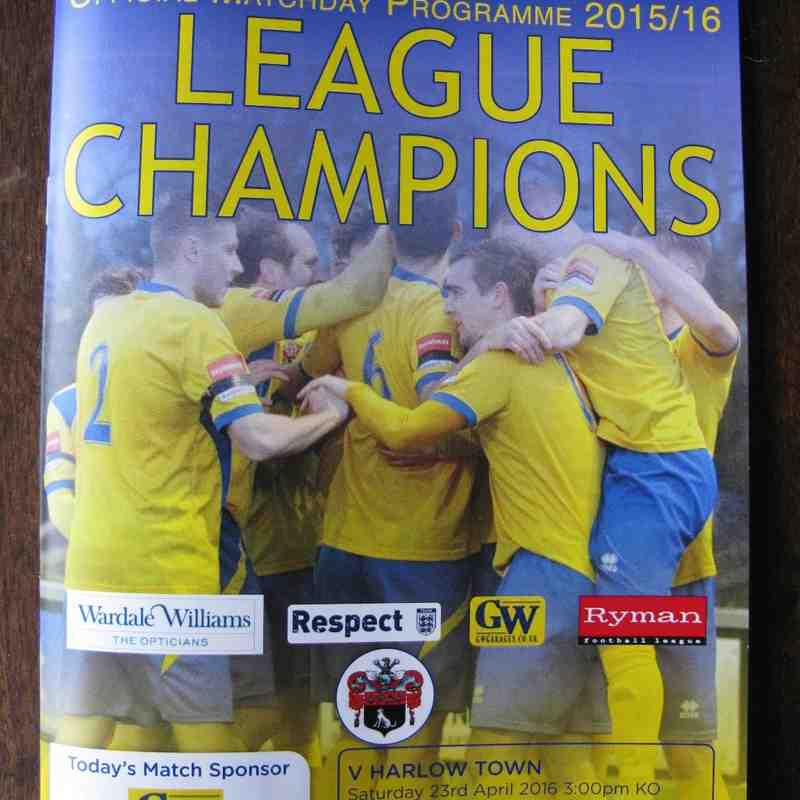 AFC Sudbury 0 Harlow Town 1