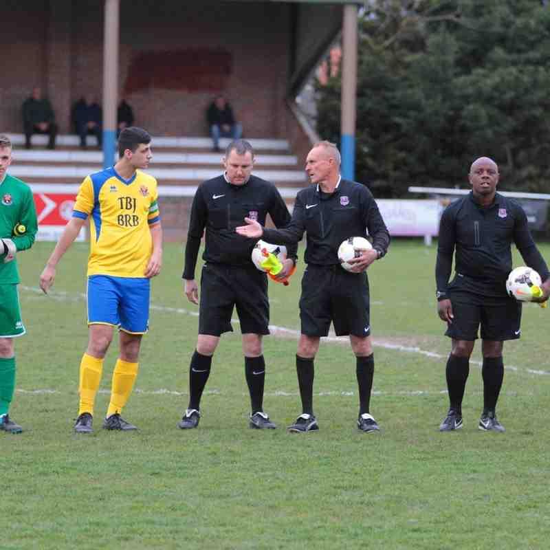 Suffolk FA Youth Cup Final AFC Sudbury U18s 4 Stowmarket U18s 1