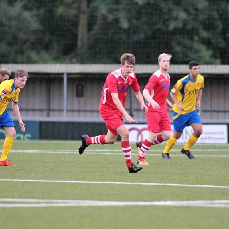 AFC Sudbury 4 Haverhill Rovers 2 Friendly