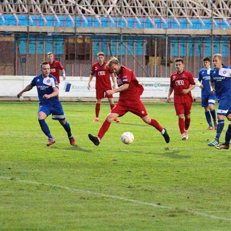 Bury Town 1 AFC Sudbury 3 Friendly