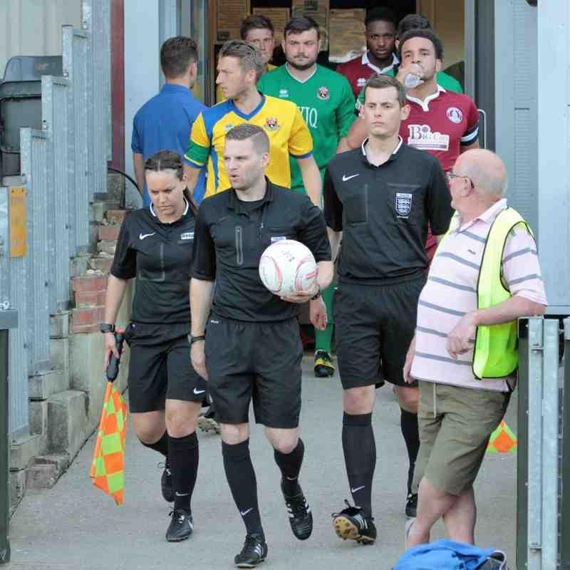 AFC Sudbury 0 Chelmsford City 2