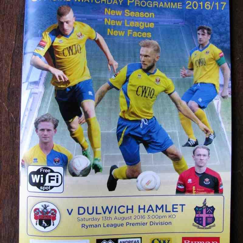 AFC Sudbury 2 Dulwich Hamlet 2