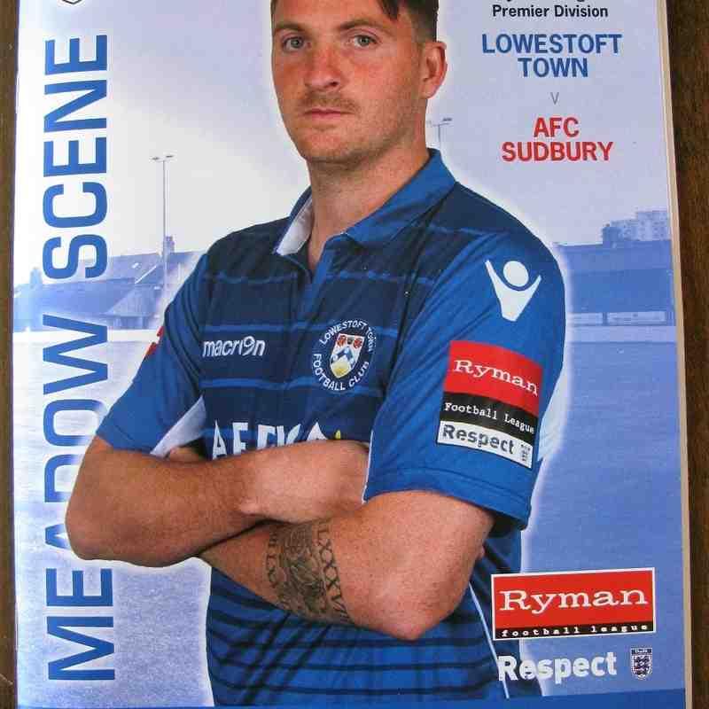 Lowestoft Town 2 AFC Sudbury 2